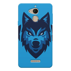 Wolf logo design Coolpad note 5 printed back cover