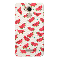 Water melon pattern design    Coolpad note 5 hard plastic printed back cover