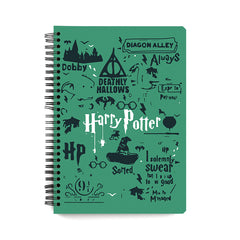 Harry Potter Movie design notebook