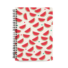 Water melon pattern design  wiro notebook - A5 Size
