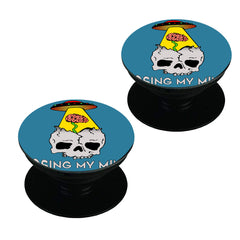 Losing my mind funny design  Set of 2 Pop holders for your phone