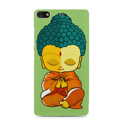 Miniature Buddha Caricature Gionee S7 hard plastic printed back cover