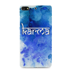 Karma Gionee S7 hard plastic printed back cover