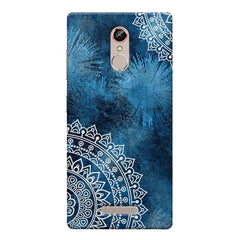 A Vivid Blue ethnic yet cool pattern Gionee s6s hard plastic printed back cover