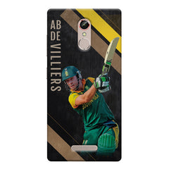 Ab De Villiers the Batting pose    Gionee s6s hard plastic printed back cover