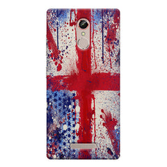 British flag design    Gionee s6s hard plastic printed back cover