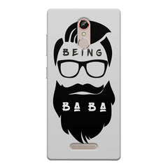 Being BaBa Design Gionee s6s hard plastic printed back cover