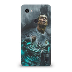 Oil painted ronaldo  design,  Google Pixel XL 3 hard plastic printed back cover