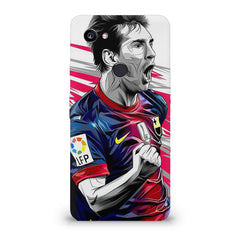 Messi illustration design,  Google Pixel XL 3 hard plastic printed back cover