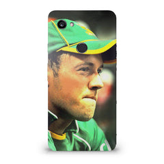 AB de Villiers South Africa  Google Pixel XL 3 hard plastic printed back cover