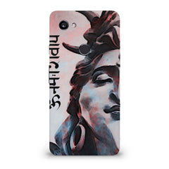 Shiva face   Google Pixel XL 3 hard plastic printed back cover