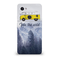 Into the wild for travel Wanderlust people Google Pixel XL 3 hard plastic printed back cover