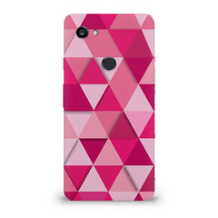 Girly colourful pattern Google Pixel XL 3 hard plastic printed back cover