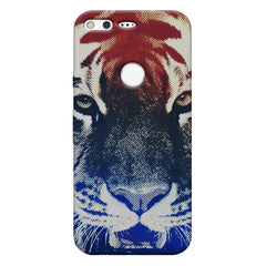 Pixel Tiger Design Google Pixel hard plastic printed back cover