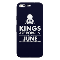 Kings are born in June design    Google Pixel hard plastic printed back cover