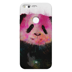 Polar Bear portrait design Google Pixel hard plastic printed back cover