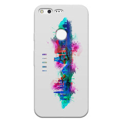 Incredible India Design Google Pixel hard plastic printed back cover