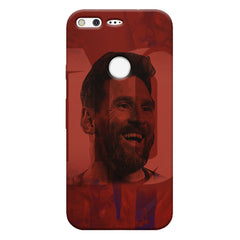 Messi jersey 10 blended design Google Pixel hard plastic printed back cover