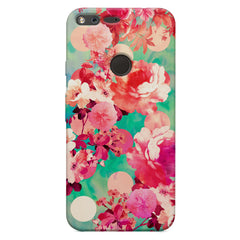 Floral  design,  Oppo Neo 7  printed back cover