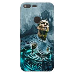 Oil painted ronaldo  design,  Oppo Neo 7  printed back cover