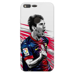 Messi illustration design,  Oppo Neo 7  printed back cover