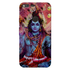 Shiva painted design Oppo Neo 7  printed back cover