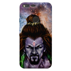 Shiva Anger  Oppo Neo 7  printed back cover
