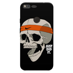 Skull Funny Just Did It !  design,  Oppo Neo 7  printed back cover