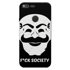 Fuck society design Oppo Neo 7  printed back cover