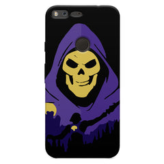 Evil looking skull design Oppo Neo 7  printed back cover