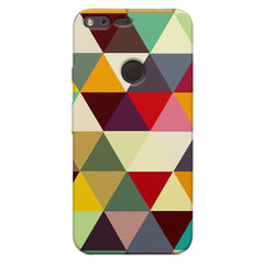 Colourful pattern design Oppo Neo 7  printed back cover