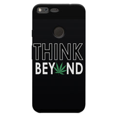 Think beyond weed design Oppo Neo 7  printed back cover