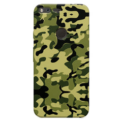 Camoflauge army color design Oppo Neo 7  printed back cover