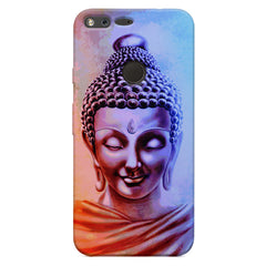 Lord Buddha design Oppo Neo 7  printed back cover