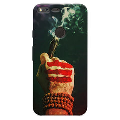 Smoke weed (chillam) design Oppo Neo 7  printed back cover