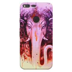 Lord Ganesha design Oppo Neo 7  printed back cover