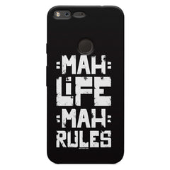 Mah Life Mah Rules Quirky design,  Oppo Neo 7  printed back cover