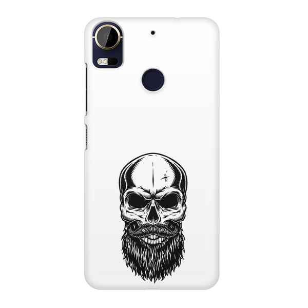 Skull with the beard  design,  HTC 10 Pro  printed back cover