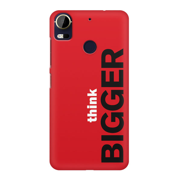 Think Bigger- For Entrepreneurs design,  HTC 10 Pro  printed back cover