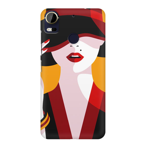 Classy girl  design,  HTC 10 Pro  printed back cover