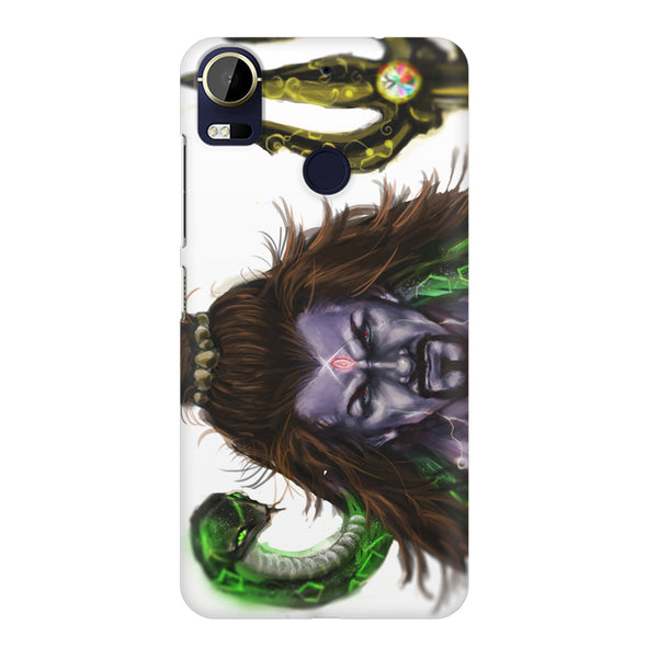 Shiva With Trishul  HTC 10 Pro  printed back cover