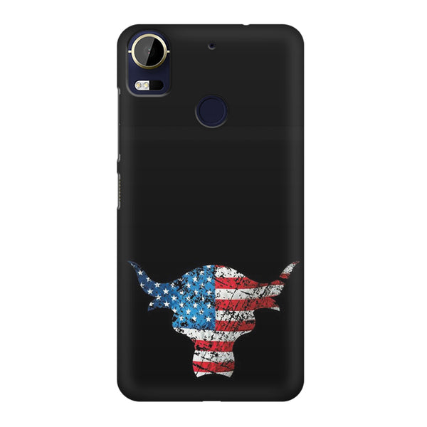 The Rock with flag colors HTC 10 Pro  printed back cover