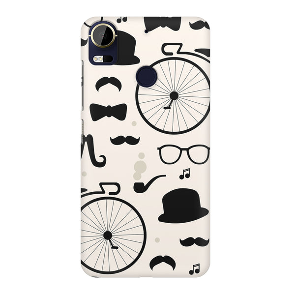 Retro theme for classic men HTC 10 Pro  printed back cover