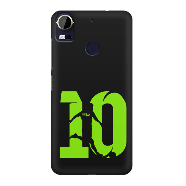 Lionel Messi 10 Playing  design,  HTC 10 Pro  printed back cover