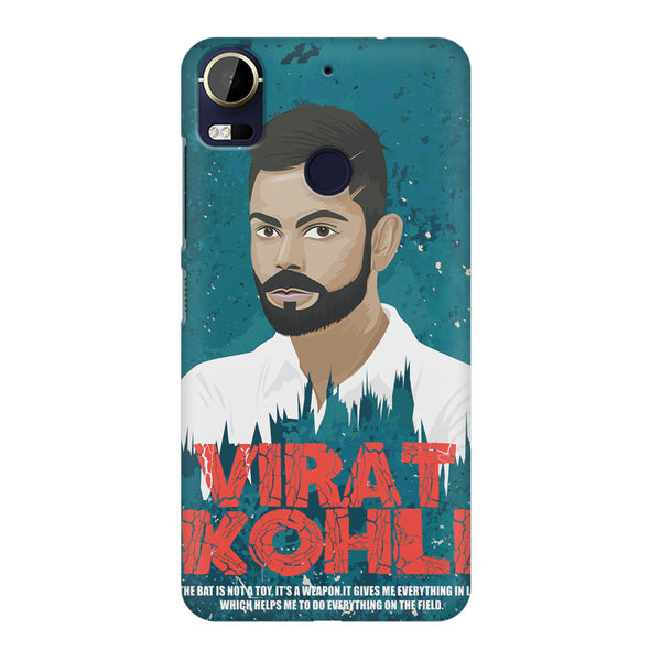 Virat Kohli Indian Cricket Team Captain Quote design,  HTC 10 Pro  printed back cover