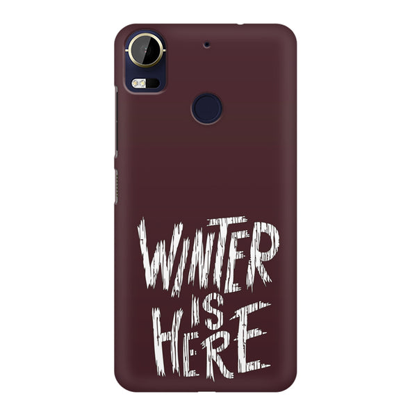 Winter is here Game of Thrones design HTC 10 Pro  printed back cover