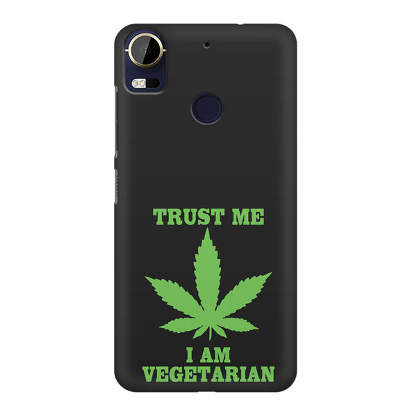 Vegan weeed design HTC 10 Pro  printed back cover