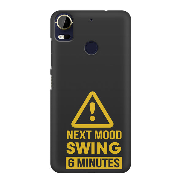Warning for Next mood swing HTC 10 Pro  printed back cover