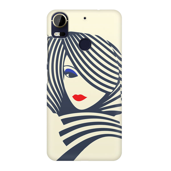 Fashionable girly design HTC 10 Pro  printed back cover