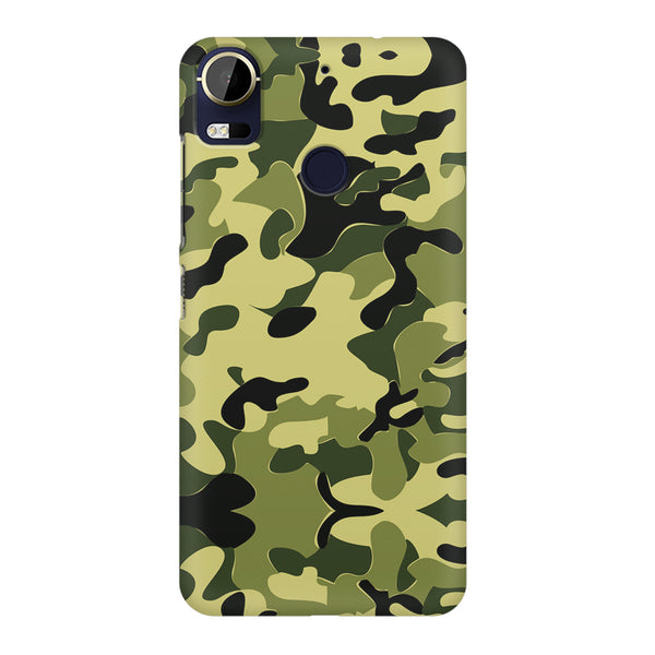 Camoflauge army color design HTC 10 Pro  printed back cover